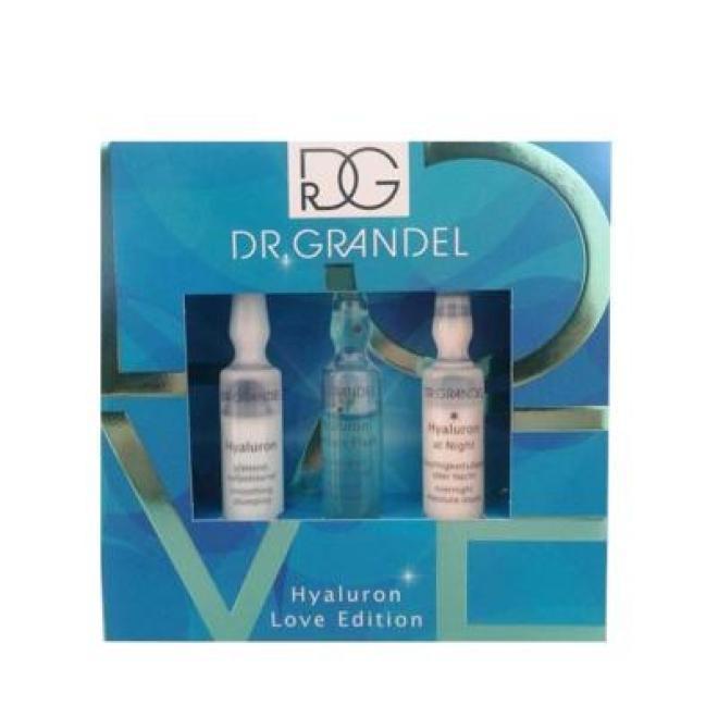 Dr. Grandel  Ampułki Hyaluron Love Edition Dr Grandel z kwasem hialuronowym zestaw nawilżający 3 x 3ml Ампулы, мезотерапия --//-- оптом