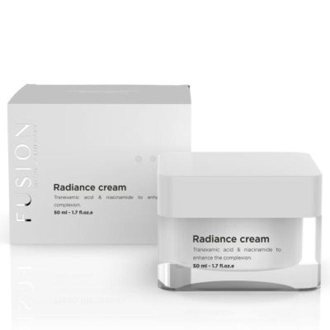 Fusion Mesotherapy  Krem Fusion Mesotherapy Radiance Cream rozjaśnia wyrównuje koloryt niweluje przebarwienia 50 ml Крем и препараты для проблемной кожи --//-- оптом