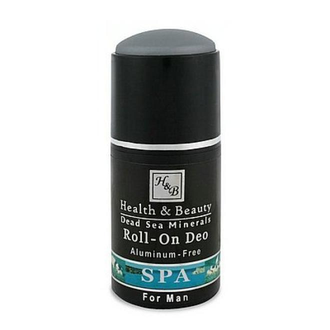 Health&Beauty Izrael  Dezodorant w kulce męski z minerałami z Morza Martwego i witaminami Health&Beauty 80ml Мужская косметика --//-- оптом