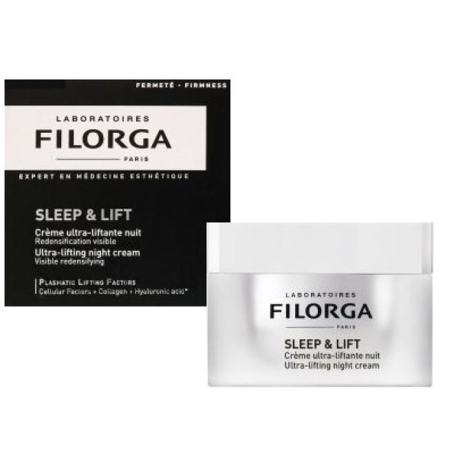 TOPSECRET  Filorga Sleep & Lift Ultra-Lifting Night Cream Krem Intensywnie Liftingujący Na Noc 50ml Сыворотки --//-- оптом
