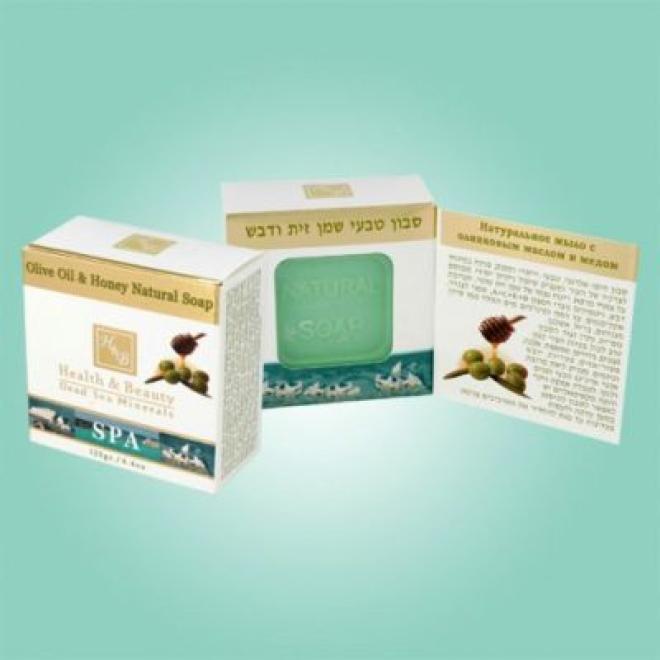 Health&Beauty Izrael  Mydło z oliwą z oliwek miodem i minerałami z Morza Martwego do skór z problemami Health&Beauty 115 g Мыло, соль, гель для душа --//-- оптом
