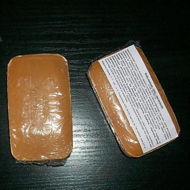 Health&Beauty Izrael  Mydło SIARKOWE naturalne dezynfekujące z minerałami z Morza Martwego Health&Beauty 125g Мыло, соль, гель для душа --//-- оптом