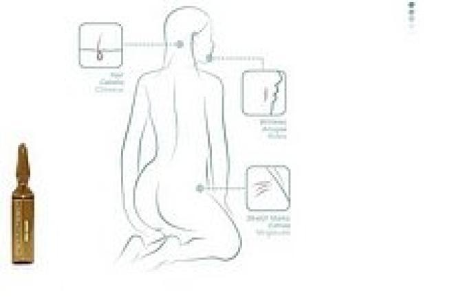 Institute BCN  Ampułka DNA Liquid działanie przeciwstarzeniowe Institute BCN 2ml Ампулы, мезотерапия --//-- оптом