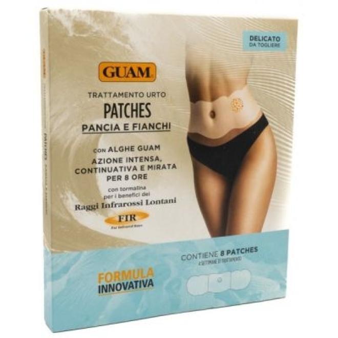 Guam  Guam Patches Pancia e Fianchi FIR Plastry modelujące talię z formułą FIR 8 sztuk Для похудения  оптом