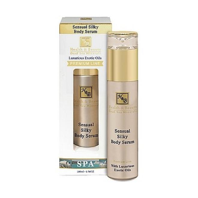 Health&Beauty Izrael  Serum do ciała z jedwabiem zmysłowe Sensual Silky Health&Beauty 100ml Целлюлит, упругость кожи тела  оптом