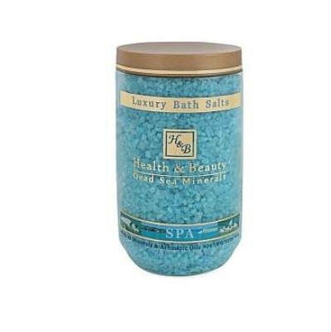 Health&Beauty Izrael  Sól kąpielowa Lawendowa 100% z Morza Martwego Health&Beauty 1200g Целлюлит, упругость кожи тела  оптом