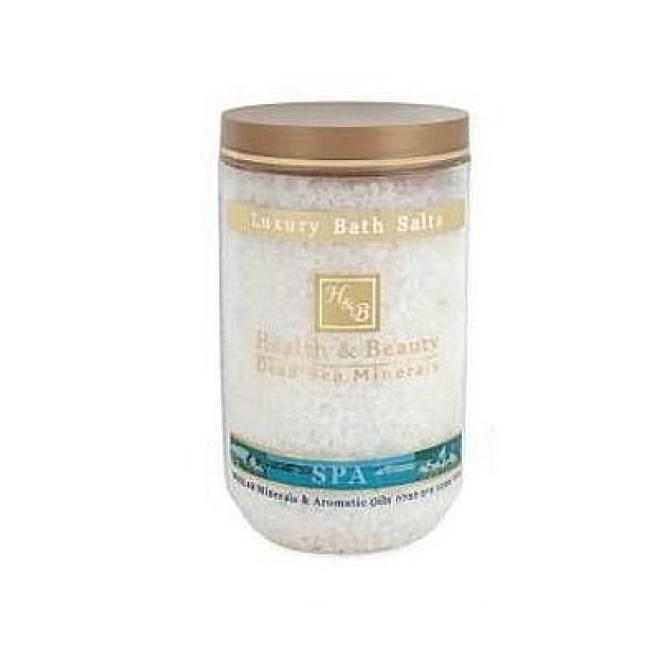 Health&Beauty Izrael  Sól kąpielowa Naturalna 100% z Morza Martwego Health&Beauty 1200g Целлюлит, упругость кожи тела  оптом