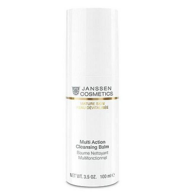 Janssen Cosmetics  Balsam Janssen (1100p) Multi Action Cleansing Balm Mature Skin multiaktywny oczyszczający 100ml Демакияж --//-- оптом