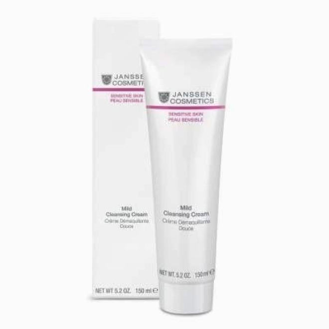 Janssen Cosmetics  Łagodny krem oczyszczający Janssen Cosmetics Mild Cleansing Cream (2200) 150 ml Демакияж  оптом