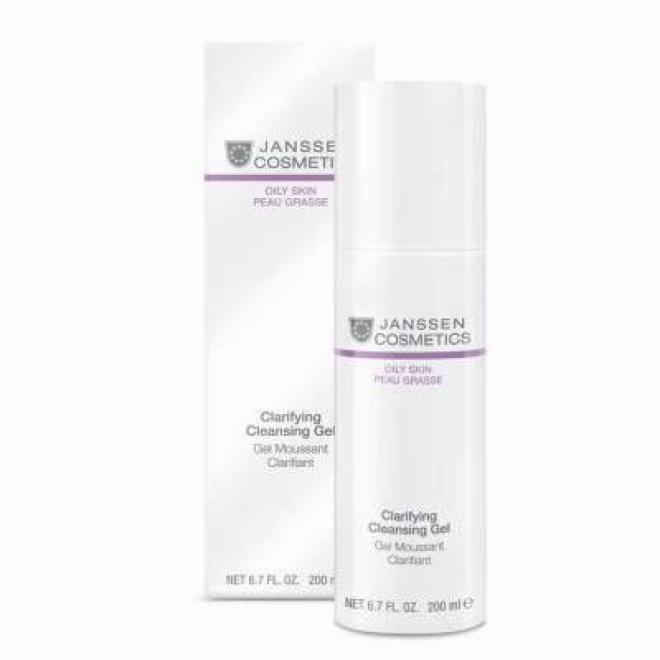 Janssen Cosmetics  Łagodny żel oczyszczający Janssen Cosmetics Clarifying Cleansing Gel (4400) 200 ml Демакияж  оптом