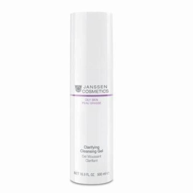Janssen Cosmetics  Łagodny żel oczyszczający Janssen Cosmetics Clarifying Cleansing Gel (4400p) 500 ml Демакияж  оптом