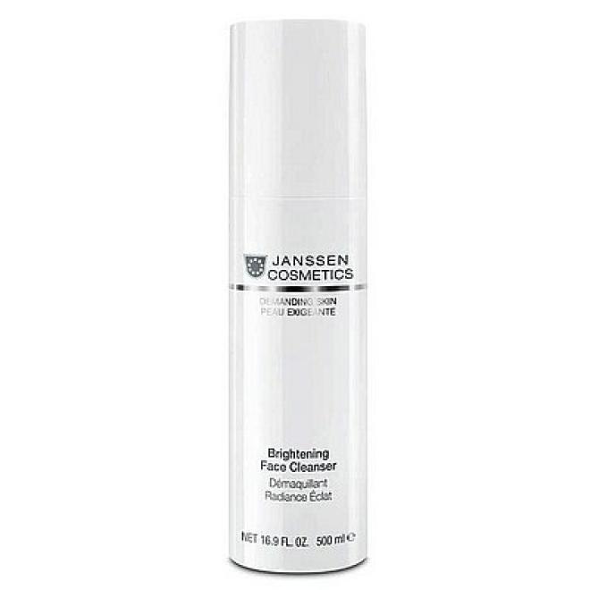 Janssen Cosmetics  Mleczko oczyszczające rozjaśniające Janssen (0000p) Brightening Face Cleanser 500 ml Демакияж --//-- оптом