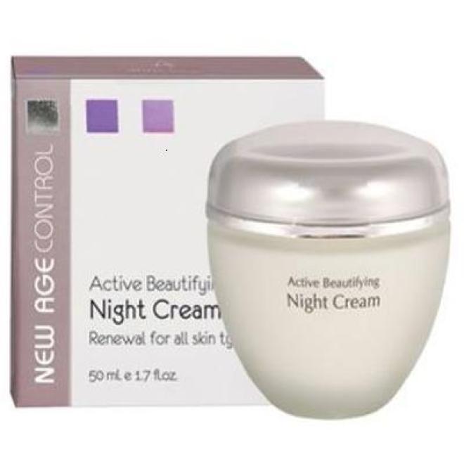 Anna Lotan  Aktywny krem regenerujący Anna Lotan New Age Control Active Beautifying Cream z kwasami AHA witaminami A E C (050) 50ml Пилинг --//-- оптом