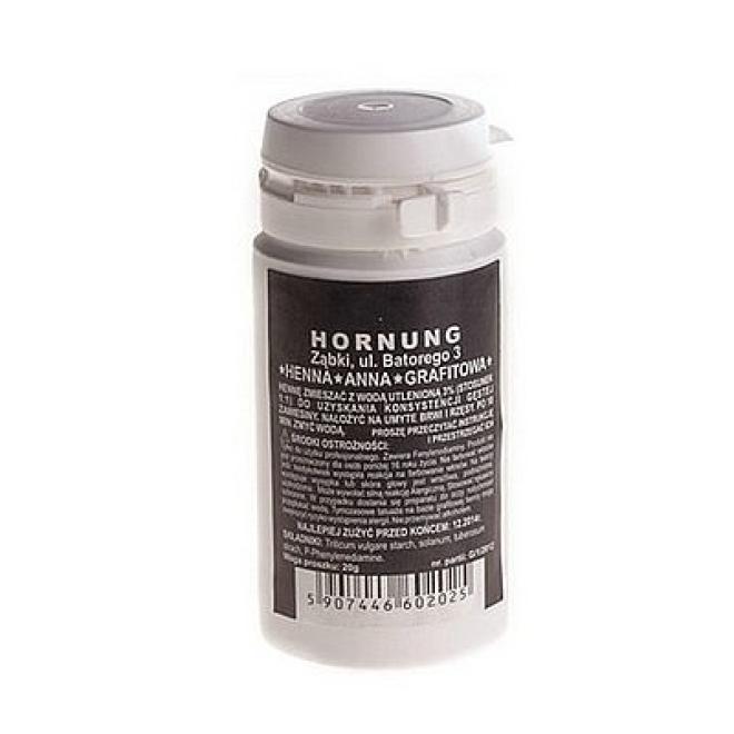 Horn  Henna proszkowa duża grafit - 50 g Хна  оптом