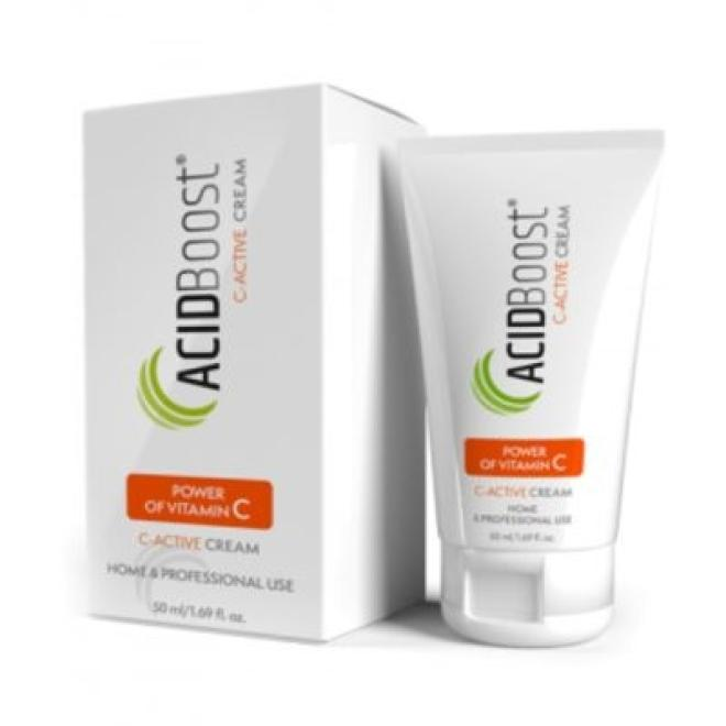 Empire Pharma  Krem ACIDBoost C-Active Cream rozświetlający do cery naczynkowej Empire Pharma 50 ml Крем и препараты для проблемной кожи --//-- оптом