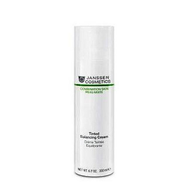 Janssen Cosmetics  Krem normalizujący Janssen (6611p) Tinted Balancing Cream Combination Skin z pigmentem 100ml Крем и препараты для проблемной кожи --//-- оптом