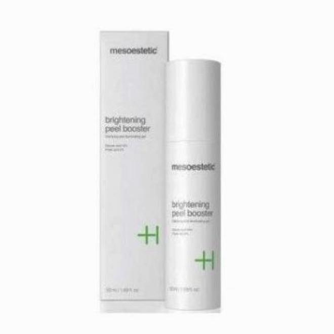 Mesoestetic  Żel Brightening Peel Booster do skór z przebarwieniami Mesoestetic 50 ml Крем и препараты для проблемной кожи  оптом