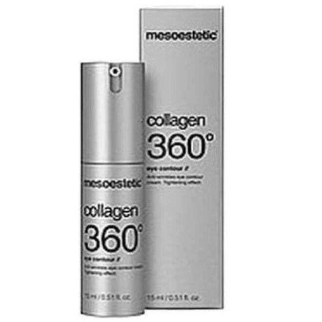 Mesoestetic  Krem intensywnie ujędrniający pod oczy Mesoestetic Collagen 360° Eye Contour Cream 15ml Крем и препараты для области глаз   оптом