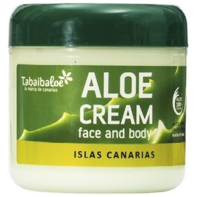 Tabaiba  Krem aloesowy Tabaiba Aloe Cream Face and Body do twarzy i ciała dla skóry młodej 300ml Крем универсальный --//-- оптом