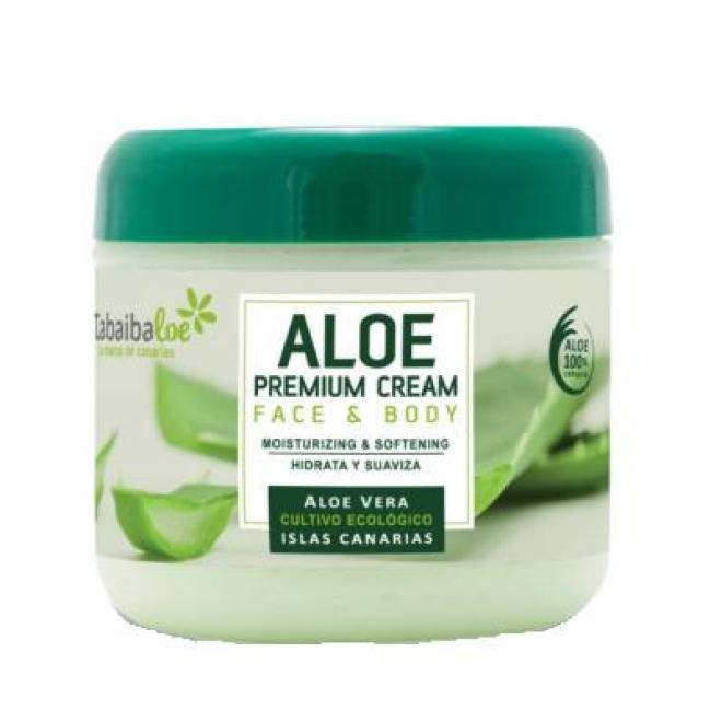 Tabaiba  Krem aloesowy Tabaiba Aloe Premium Cream do twarzy i ciała dla skóry wrażliwej 300ml Крем универсальный --//-- оптом