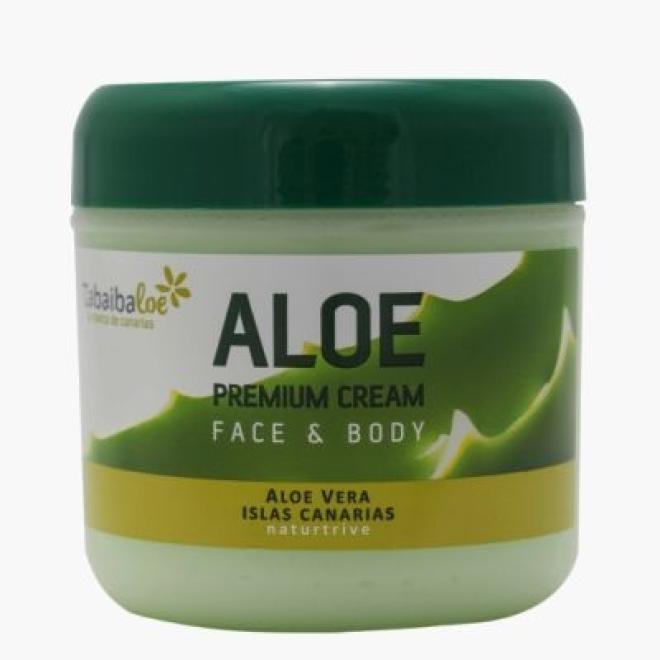 Tabaiba  Krem aloesowy Tabaiba Aloe Premium Cream do twarzy i ciała dla skóry wrażliwej 300ml Крем универсальный  оптом