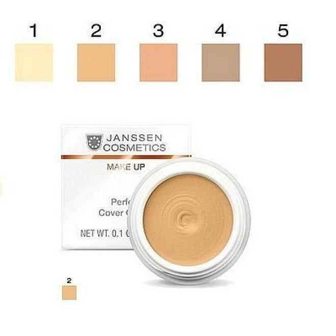 Janssen Cosmetics  Kamuflaż Janssen (840.02) Perfect Cover Cream 02 wodoodporny korektor 5ml Макияж - лицо --//-- оптом