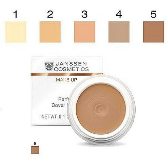 Janssen Cosmetics  Kamuflaż Janssen (840.05) Perfect Cover Cream 05 wodoodporny korektor 5ml Макияж - лицо --//-- оптом