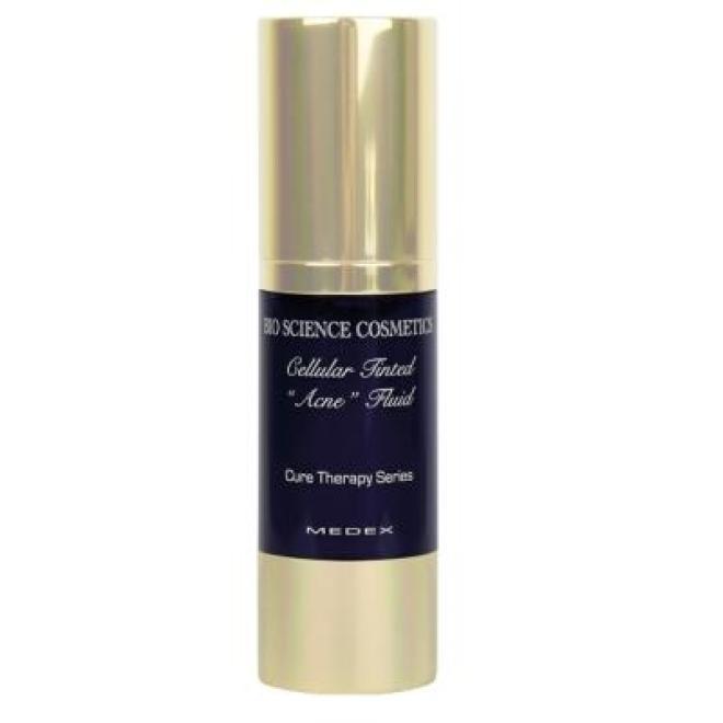Medex  Komórkowy korektor liftingujący Medex Cure Therapy Cellular Tinted Acne Fluid przeciwtrądzikowe serum koloryzujące 30 ml Макияж - лицо --//-- оптом