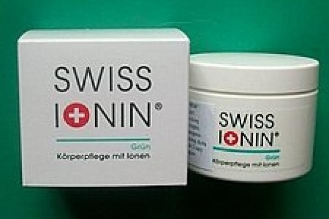 MiaPharm Szwajcaria  SWISS IONIN MASK GRUN (wcześniej ION MASK FORTE) Jonowa Maska silnie liftingująca 100g Маски ионовые  оптом