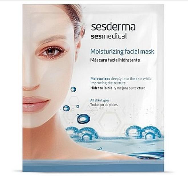 Sesderma  Sesmedical Maska nawilżająca Moisturizing Facial Mask Sesderma 1 sztuka Маски тканевые --//-- оптом
