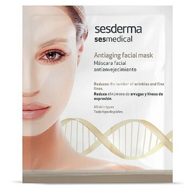 Sesderma  Sesmedical Maska przeciwstarzeniowa Antiaging Facial Mask Sesderma 1 sztuka Маски тканевые --//-- оптом