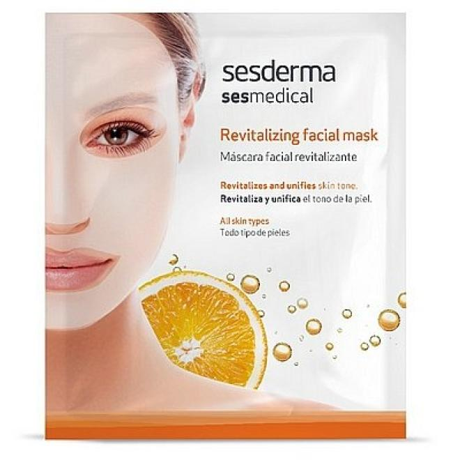 Sesderma  Sesmedical Maska rewitalizująca Revitalizing Facial Mask Sesderma 1 sztuka Маски тканевые --//-- оптом