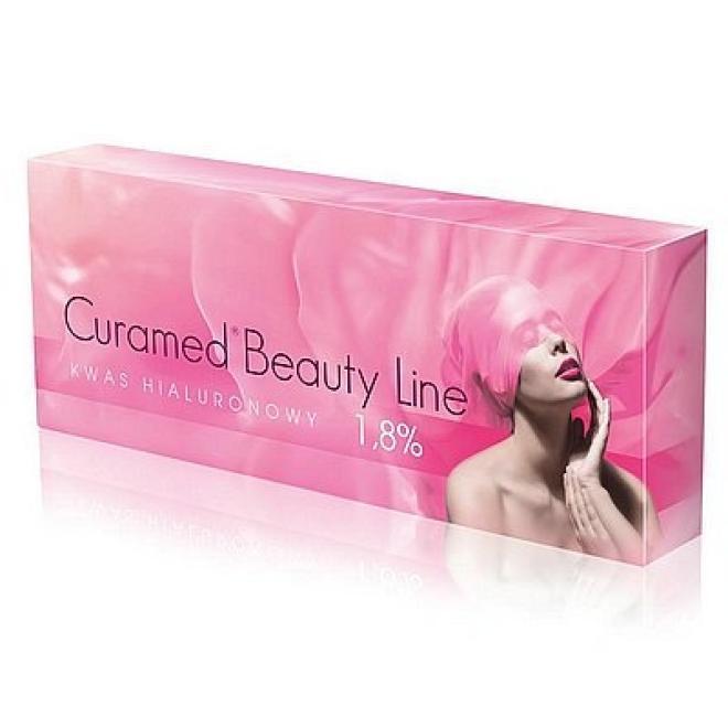 Curamed  Kwas Hialuronowy nieusieciowany Curamed Beauty Line 1.8% Curamed 1.5ml Медицина эстетическая - наполнители   оптом