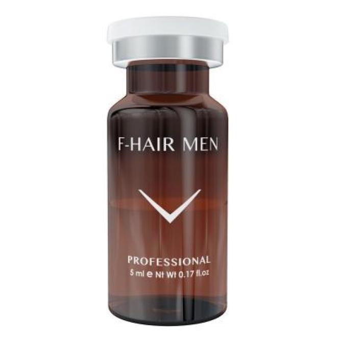 Fusion Mesotherapy  Koktajl FUSION F-HAIR MEN leczenie łysienia do mezoterapii igłowej 1 x 5 ml Мезотерапия иглами --//-- оптом