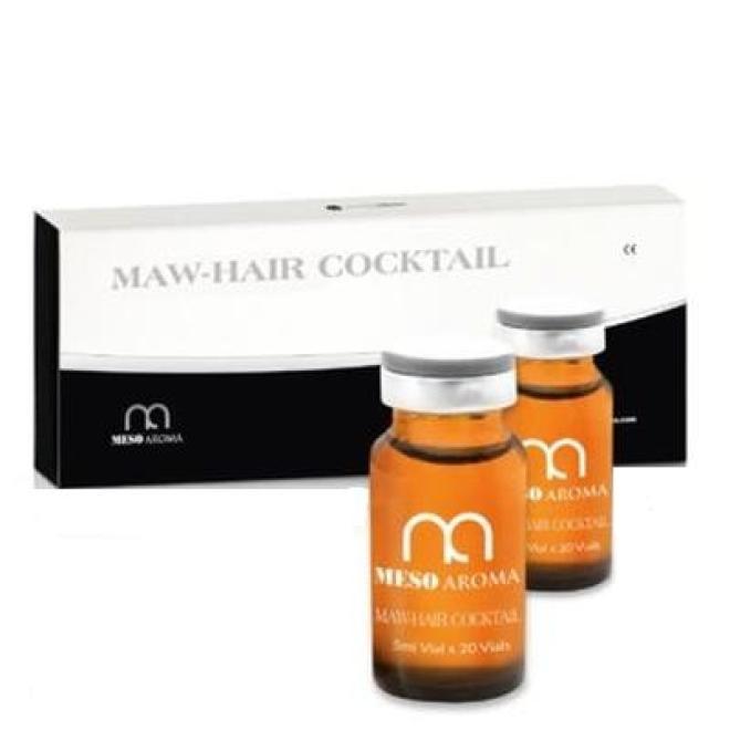 MesoAromaWorld  Koktajl MESOAROMA HAIR Cocktail na wypadanie włosów do mezoterapii igłowej 10 x 5 ml Мезотерапия иглами --//-- оптом