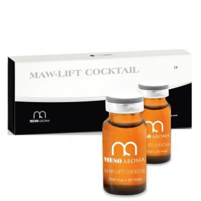MesoAromaWorld  Koktajl MESOAROMA LIFT Cocktail liftingujący do mezoterapii igłowej 10 x 5 ml Мезотерапия иглами --//-- оптом