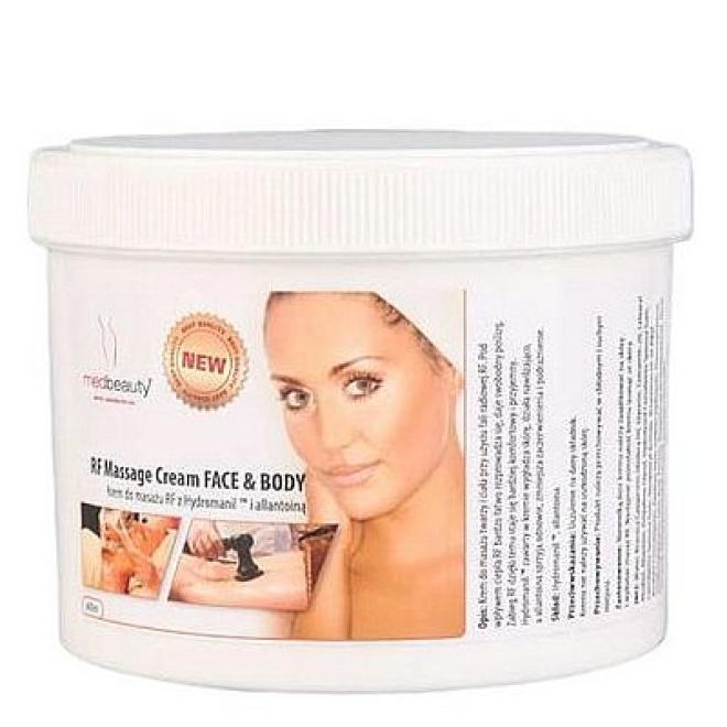 Medbeauty  Krem do zabiegów z falami radiowymi RF Massage Cream do twarzy i ciała Medbeauty 600ml Масло и крем для массажа  оптом