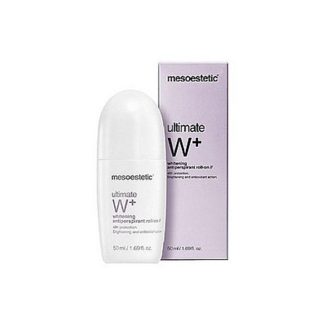 Mesoestetic  Antyperspirant roll-on Ultimate W+ przeciw przebarwieniom Mesoestetic 50ml Мыло, соль, гель для душа --//-- оптом