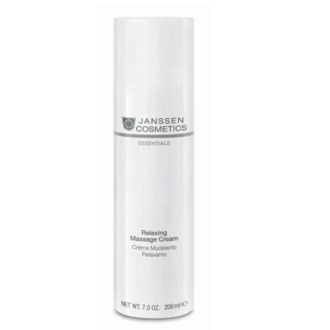 Janssen Cosmetics  Krem Janssen (5580p) relaksujący krem do masażu Relaxing Massage Cream 200 ml Масло и крем для массажа --//-- оптом