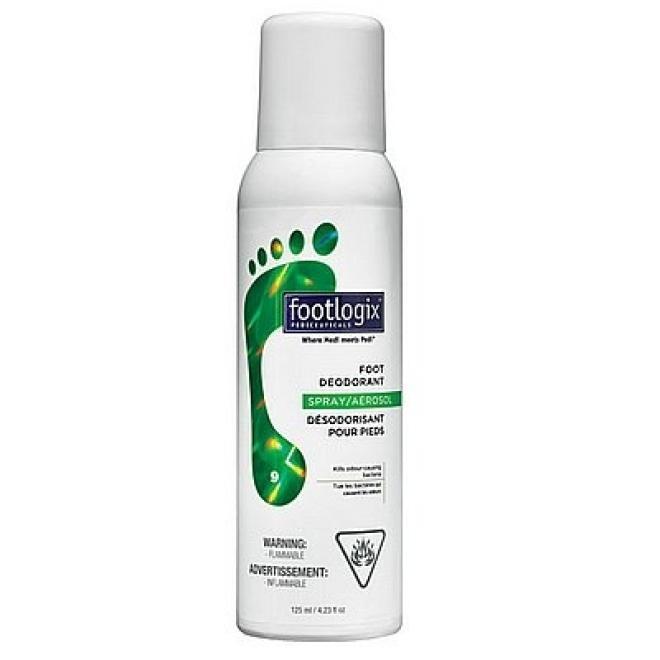 Footlogix  Dezodorant do stóp Foot Deodorant przeciwbakteryjny i przeciwwirusowy Footlogix 125ml Уход руки, стопы --//-- оптом
