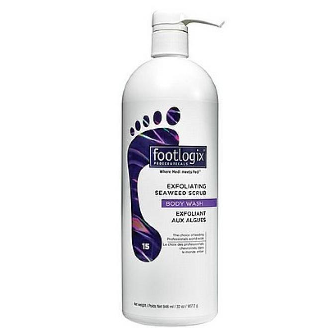 Footlogix  Peeling do stóp Exfoliating Seaweed Scrub organiczny złuszczający Footlogix 946ml Уход руки, стопы  оптом