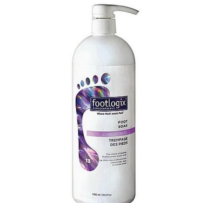 Footlogix  Płyn do kąpieli stóp Foot Soak Concentrate z mocznikiem Footlogix 1000ml Уход руки, стопы  оптом
