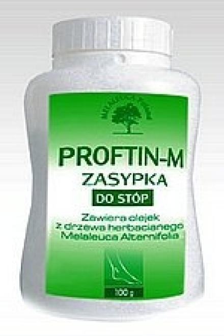 Melaleuca Laboratorium  Zasypka do stóp Proftin-M przeciwgrzybicza przeciwbakteryjna Melaleuca 100g Уход руки, стопы  оптом