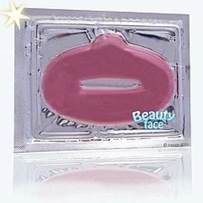 Beauty Face  Maska na usta ujędrniająca z czerwonym winem Уход губы --//-- оптом