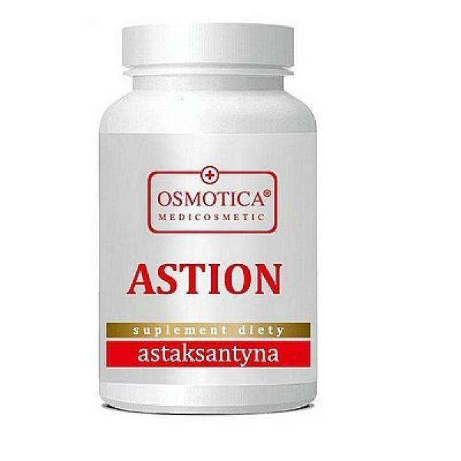 Leim Osmotica Medicosmetic  Astion 33 Astaksantyna 4mg Witamina C i E Osmotica 60 kapsułek Биодобавки  оптом