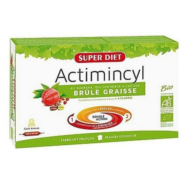 Super Diet  Super Diet ACTIMINCYL suplement diety przyśpieszający spalanie tłuszczu 20x15ml Биодобавки  оптом