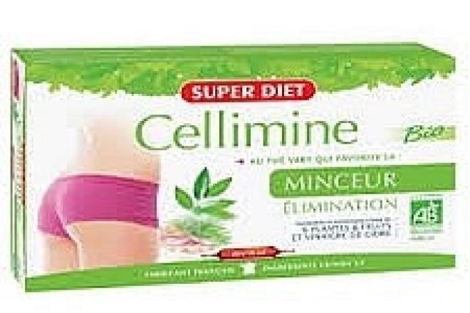 Super Diet  Super Diet Slimming CELLIMINE preparat wyszczuplający i detoksykujący 20 x 15ml Биодобавки  оптом