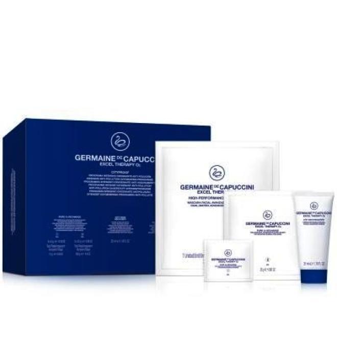 Germaine de Capuccini  Zabieg Germaine de Capuccini EXCEL Therapy O2 Cityproof Ochrona skóry przed skutkami zanieczyszczenia 5 zabiegów Наборы операционные --//-- оптом