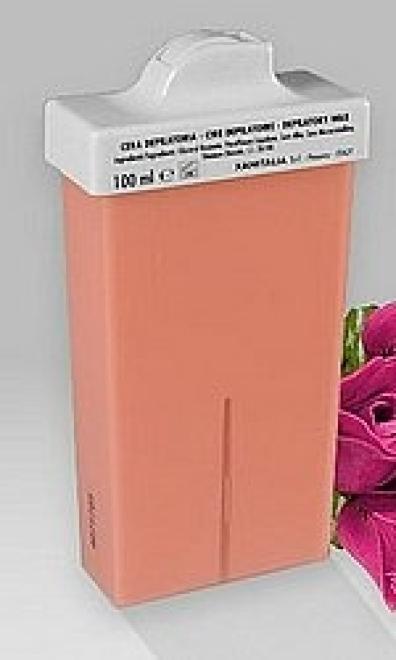 Xanitalia  Wosk 100 ml z dwutlenkiem tytanu różany - mini rolka Депиляция  оптом