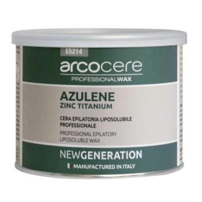 Arco  Wosk 400 ml azulenowy z cynkiem - puszka Депиляция --//-- оптом